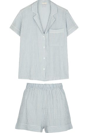 Eberjey Nautico striped pyjama set