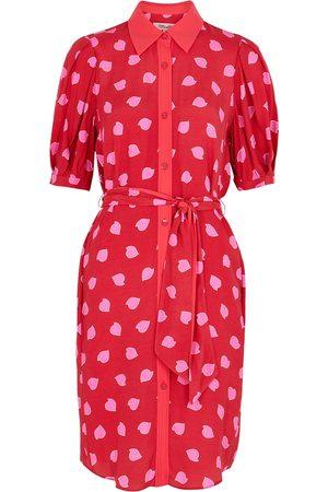 Diane von Furstenberg Amanda printed crepe de chine shirt dress