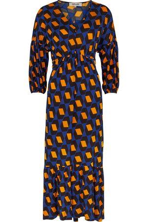 Diane von Furstenberg Ebony printed stretch-jersey midi dress