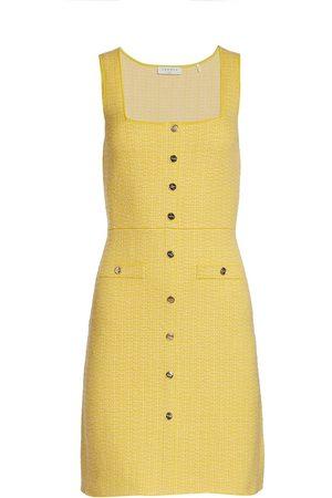 Sandro Women Party Dresses - Women's Cannelle Sleeveless Tweed Mini Dress - - Size 8