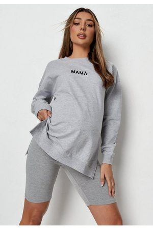 Missguided Recycled Mama Maternity Sweatshirt
