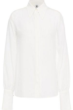 M Missoni Woman Silk Crepe De Chine Shirt Size 38