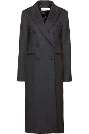 Victoria Beckham Woman Double-breasted Wool-felt Coat Size 10