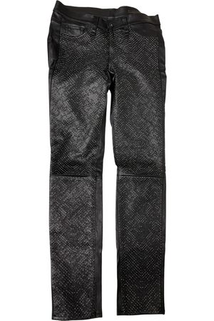RAG&BONE \N Leather Trousers for Women