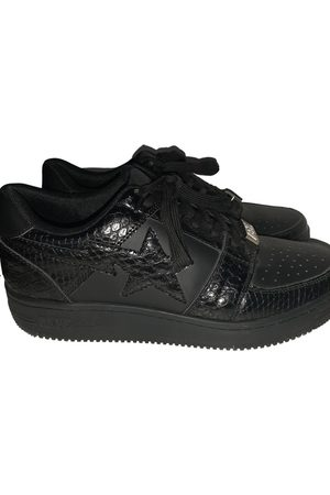 AAPE BY A BATHING APE Men Sneakers - \N Leather Trainers for Men