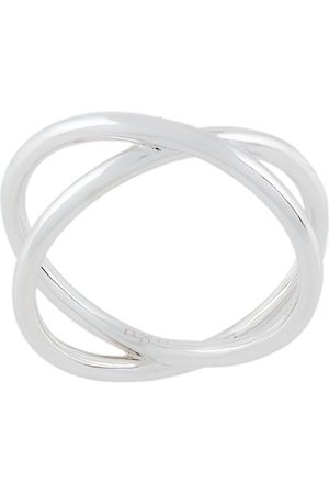 ESHVI Cross ring - Metallic