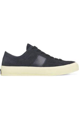 Tom Ford Men Sneakers - Cambridge Suede Low Top Sneakers