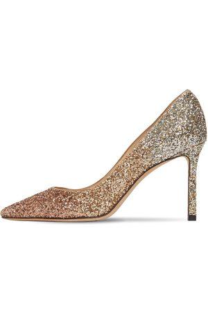 Jimmy Choo Women High Heels - 85mm Romy Gradient Glittered Pumps