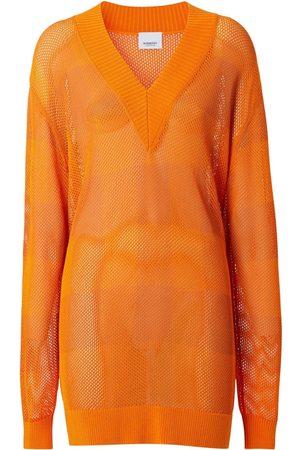 Burberry Zoie Knit V Neck Sweater