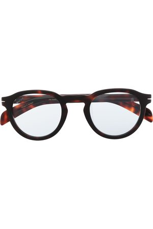 DB EYEWEAR BY DAVID BECKHAM Men Sunglasses - Round tortoiseshell frames