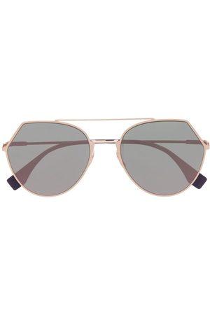 Fendi Women Round - Round-frame sunglasses