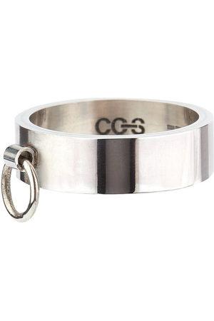CC-Steding Men Rings - Knock flat band ring