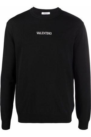 VALENTINO Logo-intarsia jumper