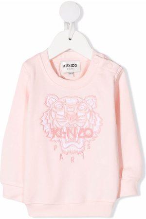 Kenzo Hoodies - Embroidered tiger logo sweatshirt