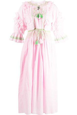 Cynthia Rowley Daliah tassel shift dress