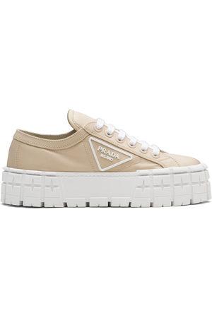 Prada Double Wheel low-top sneakers - Neutrals