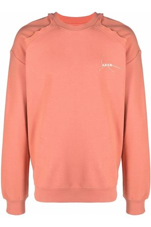 Ader Error Kaput embroidered-logo cotton sweatshirt