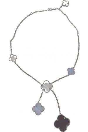 Van cleef Women Necklaces - Magic Alhambra White gold Necklace for Women