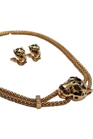 Cartier Panthère yellow jewellery set