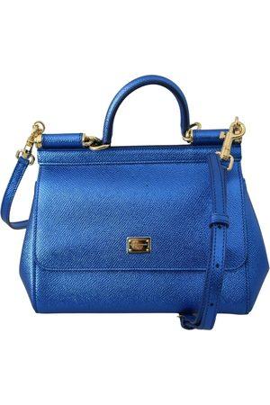 Dolce & Gabbana Sicily Leather Handbag for Women