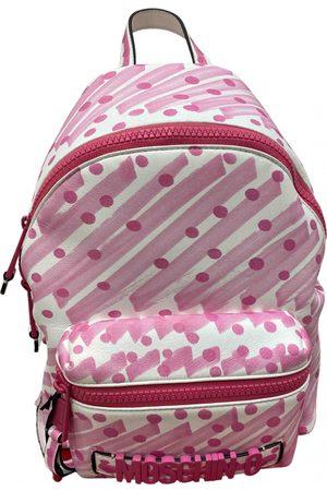 Moschino Women Rucksacks - \N Leather Backpack for Women