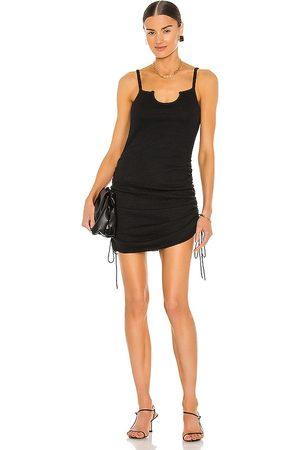 JoosTricot Half Moon Dress in Black.