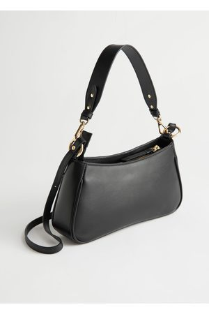 & OTHER STORIES Structured Leather Shoulder Bag