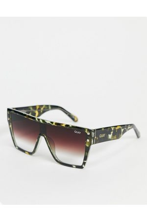 Quay Australia Quay Maxed Out womens flatbrow sunglasses in multi