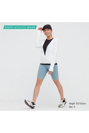 """UNIQLO Women Shorts - Women's Airism Soft Biker Shorts (9.5""""), , XXS"""