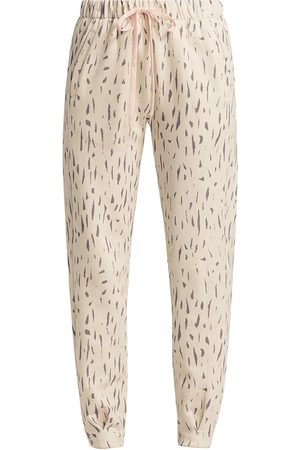 The Upside Women's Bruna Leopard-Print Track Pants - Animal - Size Large