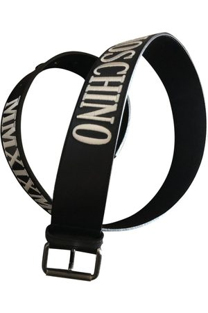 Moschino \N Leather Belt for Men