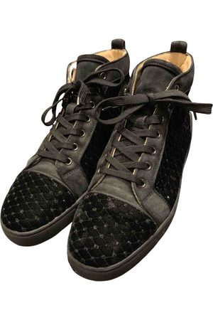 Christian Louboutin Men Sneakers - \N Suede Trainers for Men
