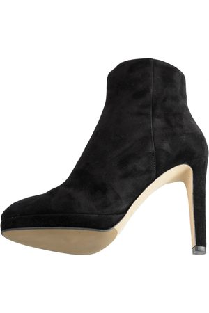Sergio Rossi Women Ankle Boots - \N Leather Ankle boots for Women