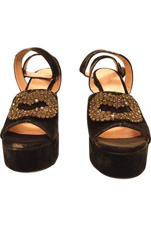 GIANNICO \N Velvet Heels for Women