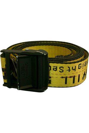 OFF-WHITE Men Belts - \N Cloth Belt for Men