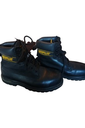 Caterpillar \N Leather Boots for Men