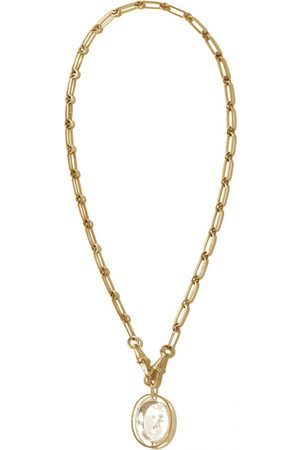 Pascale Monvoisin Women Necklaces - \N Yellow Necklace for Women