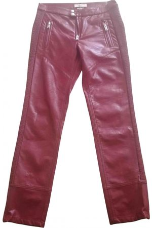 Isabel Marant \N Vegan leather Trousers for Women