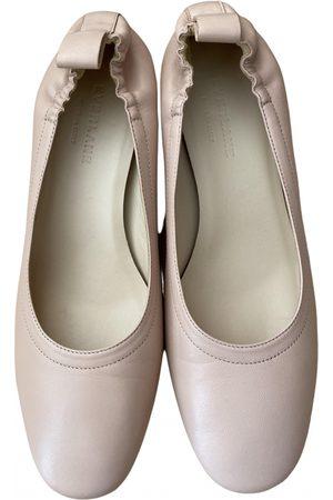 Everlane Women Ballerinas - \N Leather Ballet flats for Women