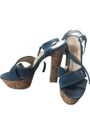 Verra Pelle Women Sandals - \N Suede Sandals for Women