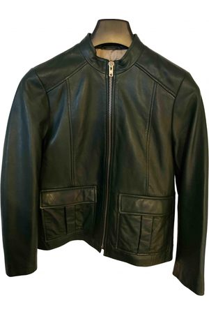 Ganni Women Leather Jackets - \N Leather Jacket for Women
