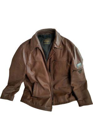 Gianfranco Ferré Men Leather Jackets - \N Leather Jacket for Men