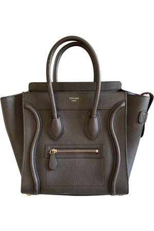 Céline Women Purses - Nano Luggage Leather Handbag for Women