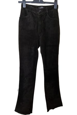Joseph \N Suede Trousers for Women