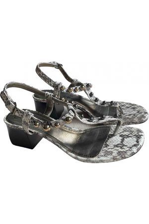 Lanvin Women Sandals - \N Leather Sandals for Women