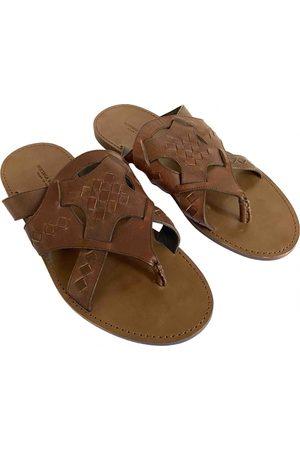 Bottega Veneta Men Sandals - \N Leather Sandals for Men