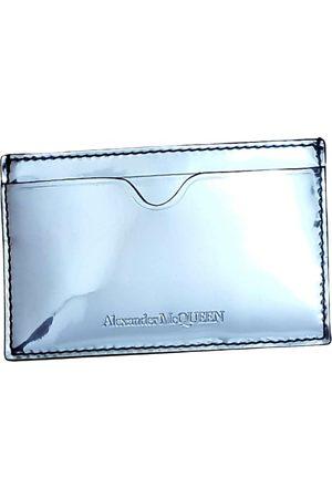 Alexander McQueen Men Wallets - \N Patent leather Small Bag, Wallet & cases for Men