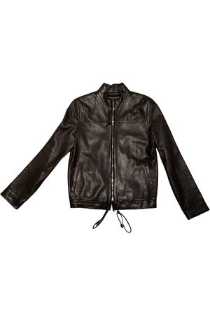 Loewe Women Leather Jackets - \N Leather Leather Jacket for Women