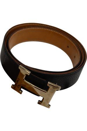 Hermès Men Belts - H Leather Belt for Men
