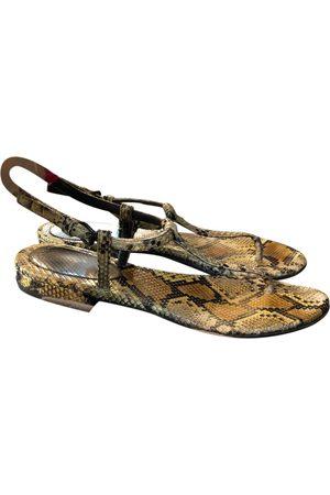 Bottega Veneta Women Sandals - \N Leather Sandals for Women